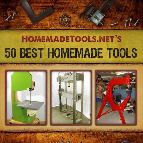 eBook Cover for HomemadeTools.net | Book cover contest  eBook Cover for...