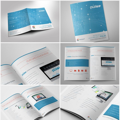 Prize Guaranteed Brochure Design For Hot Project Online Software Company Brochure Contest 99designs