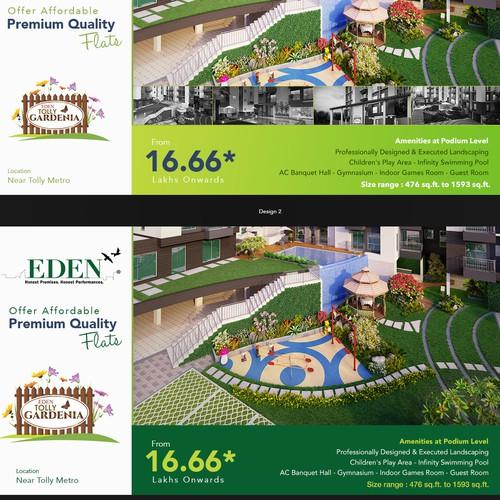 Runner-up design by flyer design