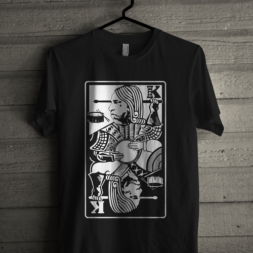 A young drummers brand needs your talent Design by 3811 studio