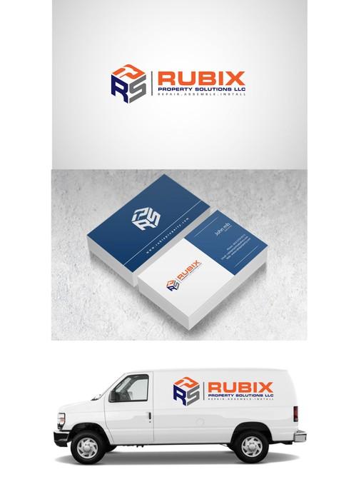create a professional brand logo for a property maintenance handyman