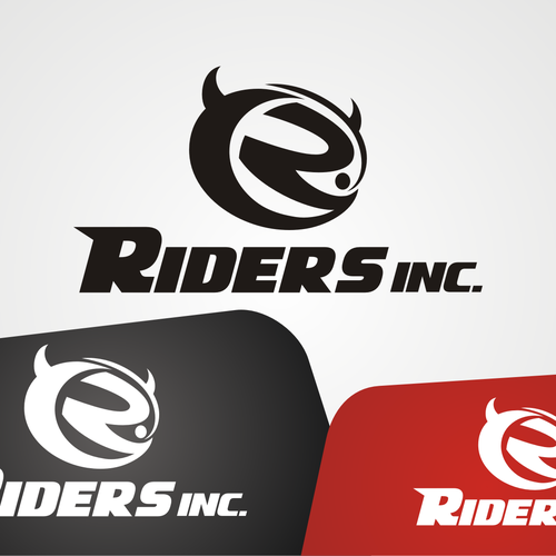 logo for riders inc logo design contest