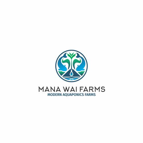 Hawaiian aquaponics company - design a modern logo Design by Plain Paper