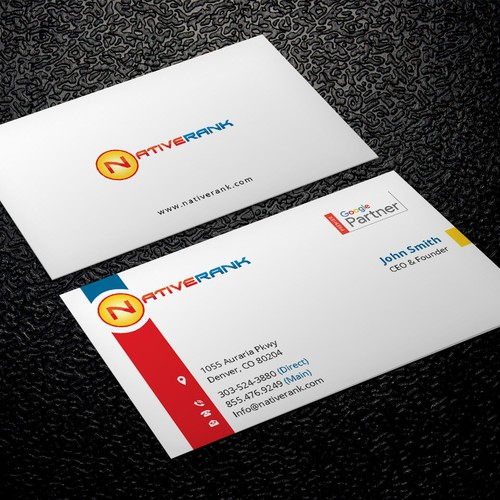 New business cards business card contest entries from this contest colourmoves Images
