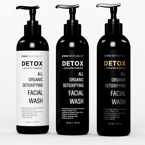 Cool Edgy Label for Face Wash Ontwerp door MMX