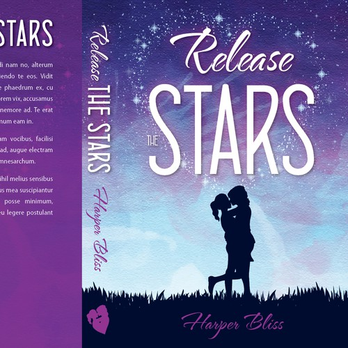 Create a cover for a light-hearted romance novel Design by Denink88