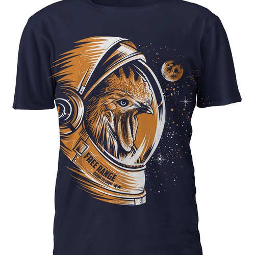 Design a Fun Visually Captivating and Creative T-shirt design for an awesome company!! Design by Riskiyan W