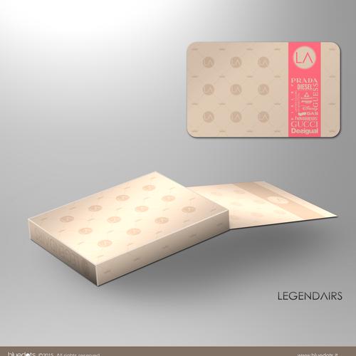 Diseño finalista de bluedots studio