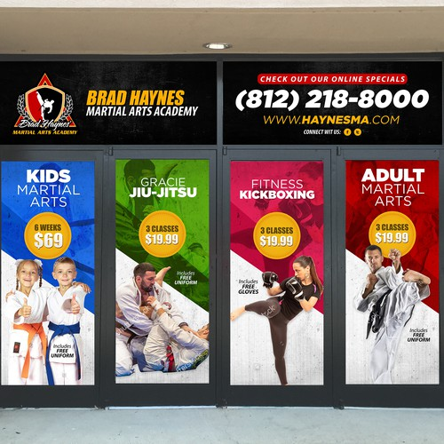 D Exhibition Designer Job In : Creat an attractive window graphic display for my family