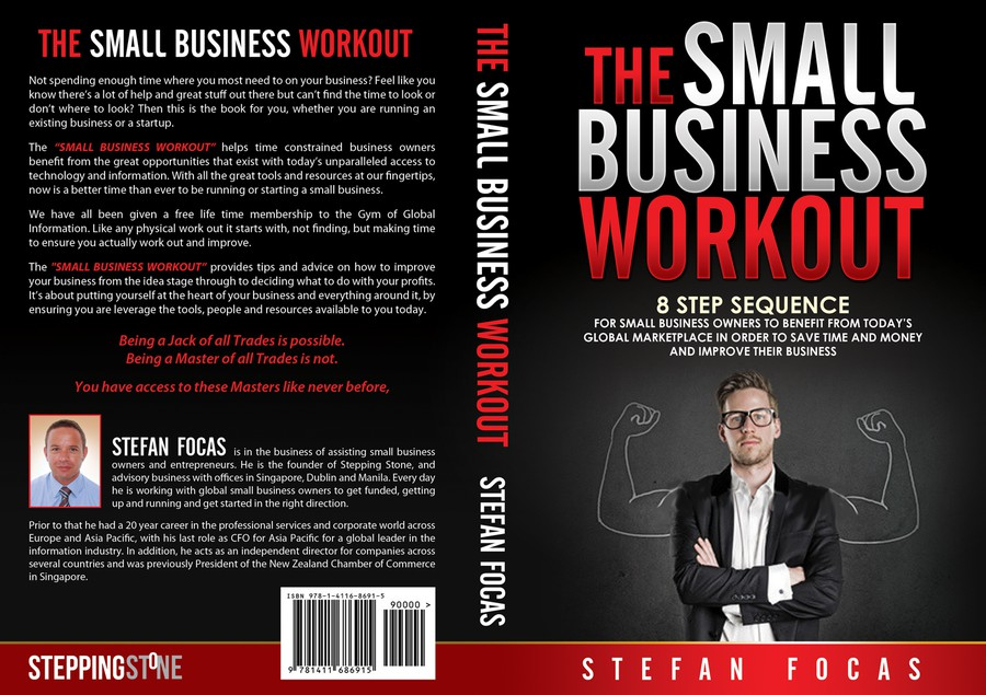 Creating A Book Cover For The Small Business Workout Buchcover