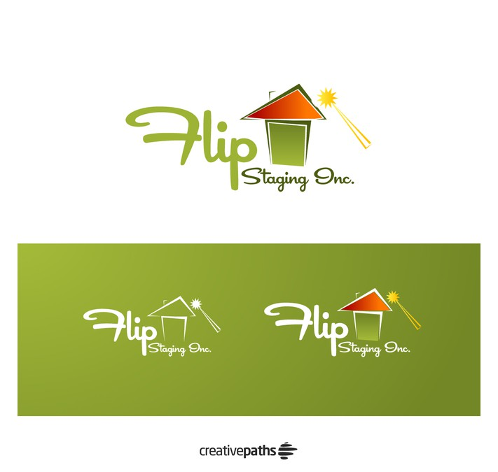 Creative, Bold, Catchy, Simple Logo For Home Staging