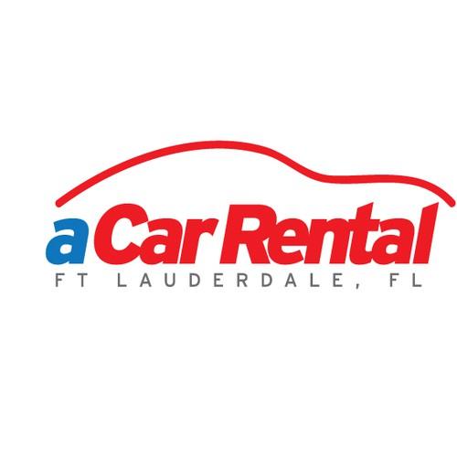 A Car Rental Logo Logo Design Contest 99designs