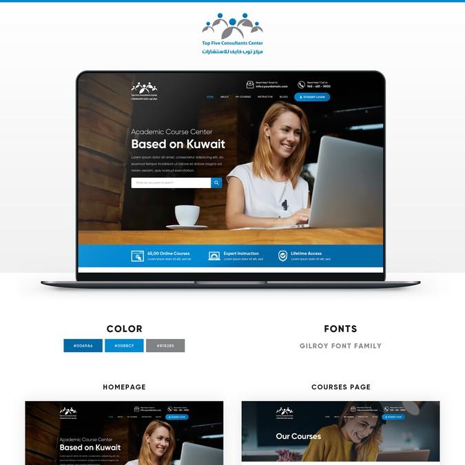 Winning design by Webenix Solutions