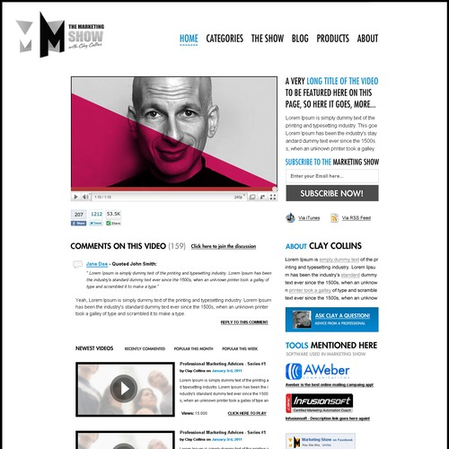 Diseño finalista de Milos Vujnovic