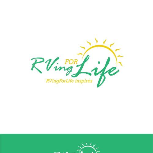 Create an inspirational logo for rvingforlife a for Create blog logo