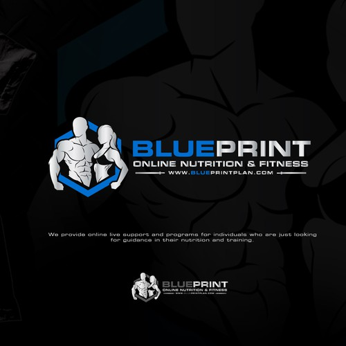 Best blueprint design that depicts nutrition and fitness in single runner up design by nambawan malvernweather Gallery