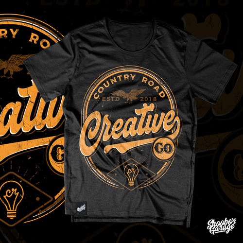 Create a Vintage T-Shirt Design for a Marketing Company Design by Shoobo's
