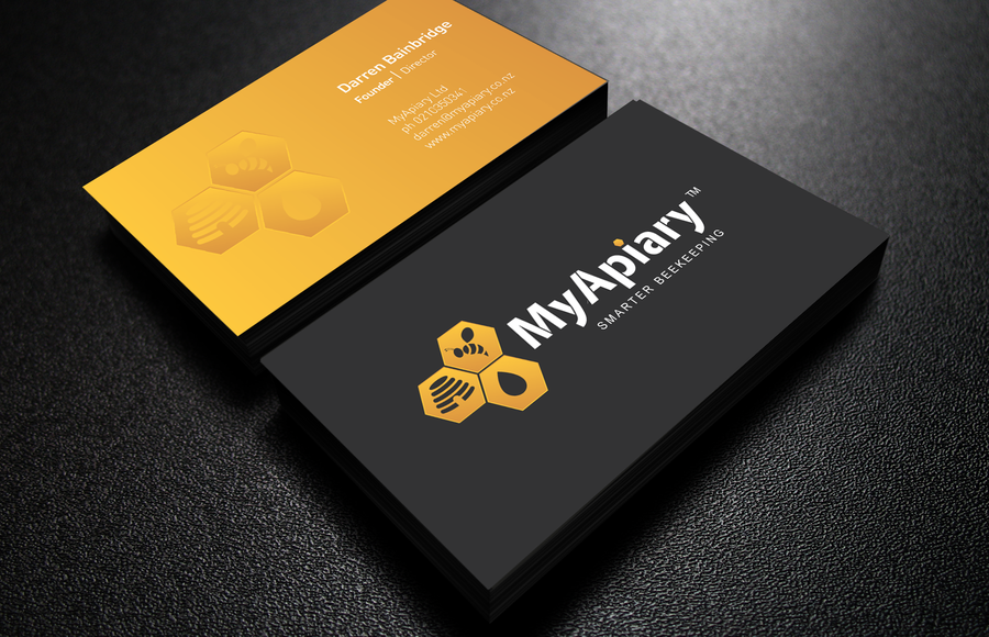 Create the next logo and business card for myapiary concurso create the next logo and business card for myapiary reheart