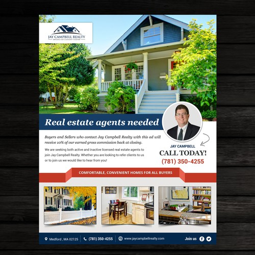 Real Estate Ad Flyer | Postcard, flyer or print contest