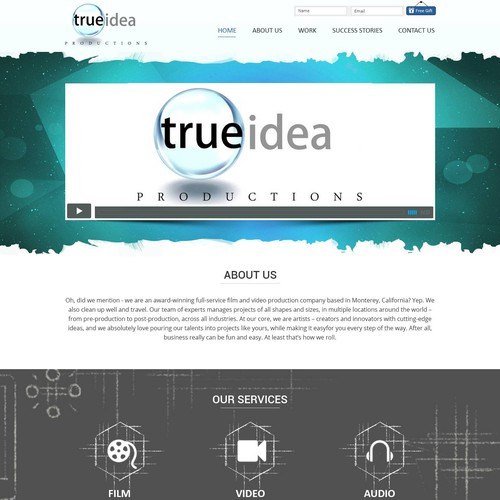 Runner-up design by Gowebbaby.com