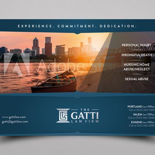 Law firm unique print advertisements. Design by A-Sz
