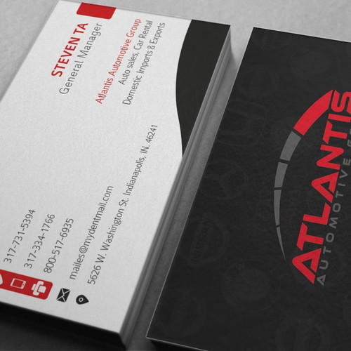 Aaa rating business card business card contest runner up design by devildip reheart Image collections