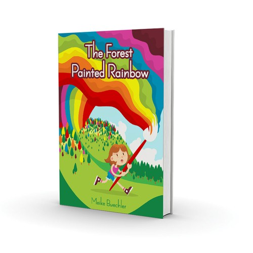 How To Make A Rainbow Book Cover : Create an engaging book cover for my middle grade fantasy