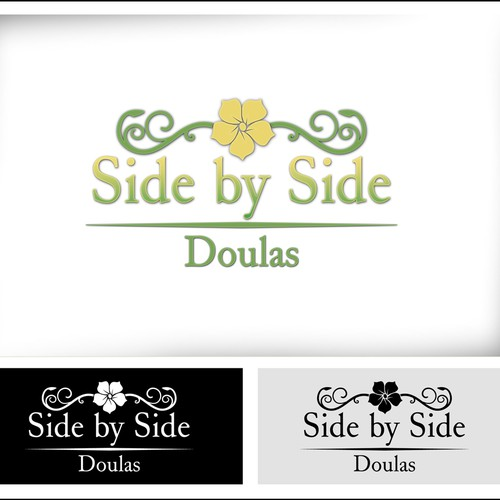 side by side sweepstakes create the next logo for side by side doulas logo design 1838
