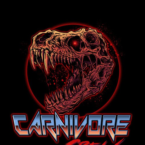 Carnivore Crew Teamshirt Design by Black Arts 888