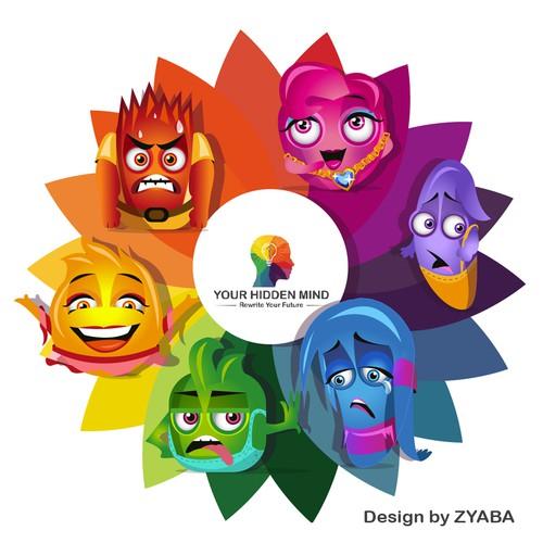 Runner-up design by ZYABA