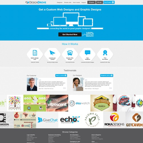Diseño finalista de Designs Guru Studio