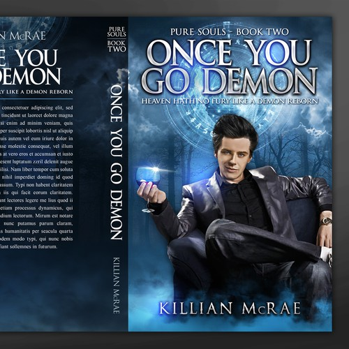 Paranormal Romance Series - Second book Design by AryasatyaDesign