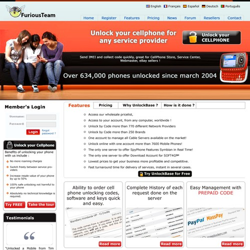 Runner-up design by jaipurweb