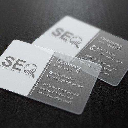 A professional high end digital marketing business card business entries from this contest colourmoves