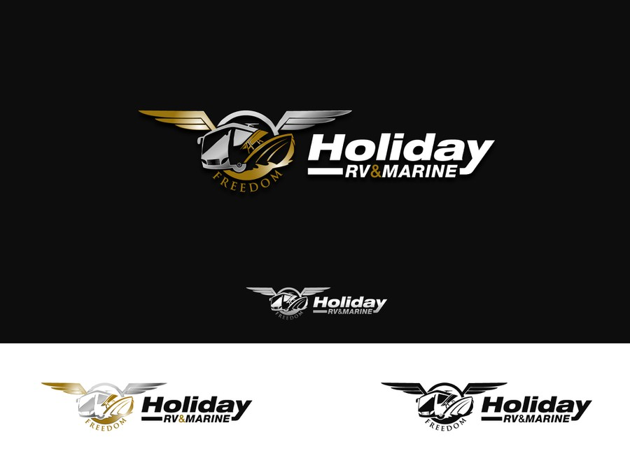recreational vehicle sweepstakes logo for a recreational vehicle and boat dealership logo 6776