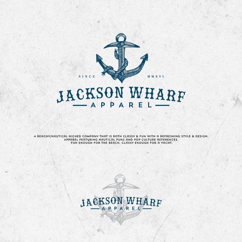 Get wavy and design a logo for Jackson Wharf! | Logo design contest