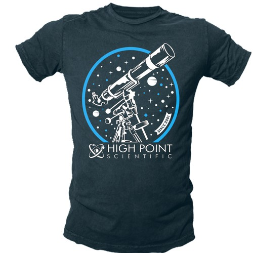High Point Scientific T Shirt Design T Shirt Contest 99designs 2″ to 1.25″ adapter, mounting rings, dovetail. high point scientific t shirt design