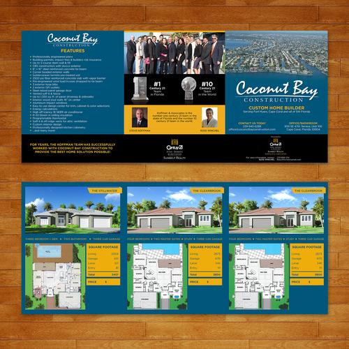 High End Custom Home Builder Brochure Brochure Contest
