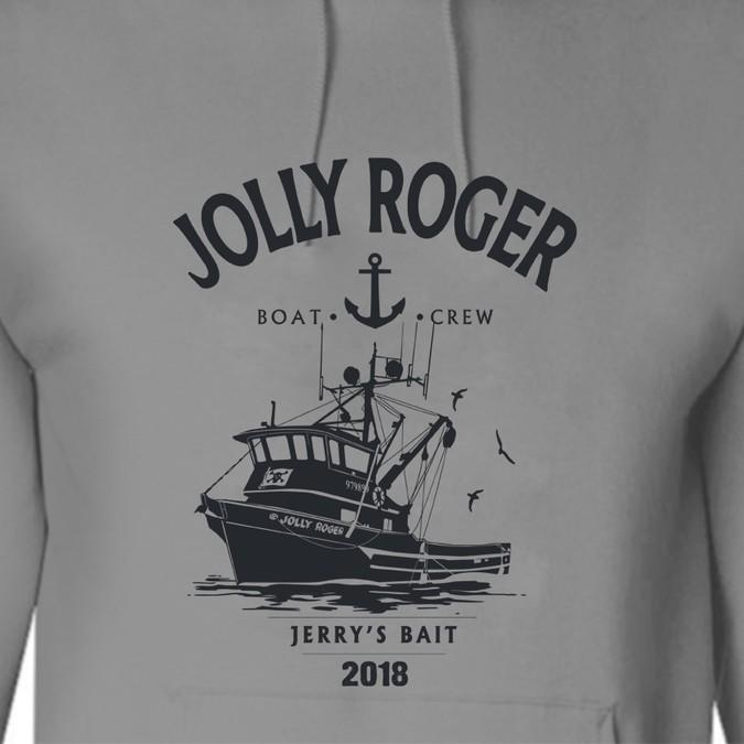 Cool sweatshirt for fishing vessel crew | Clothing or