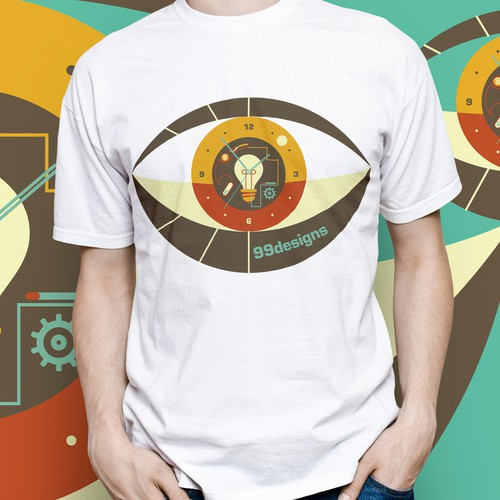 Create 99designs' Next Iconic Community T-shirt Design by MiljanKO