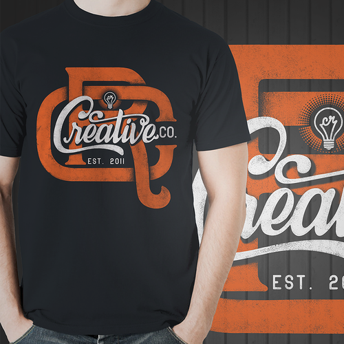 Create a Vintage T-Shirt Design for a Marketing Company Design by Affan2fly