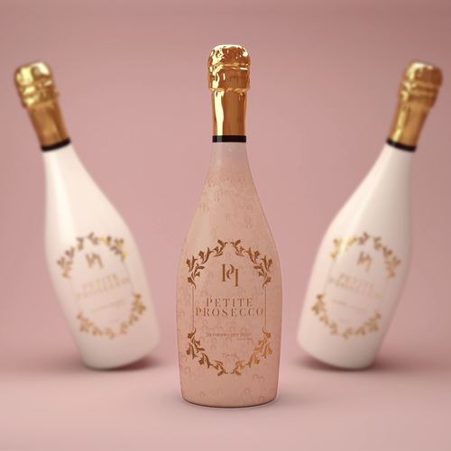 Low Calorie Prosecco Design by isabellarrazola