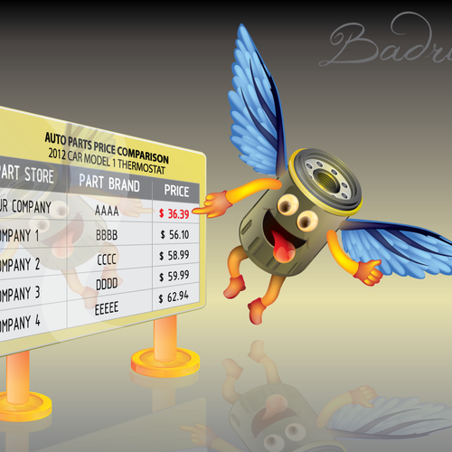 Runner-up design by Badrun