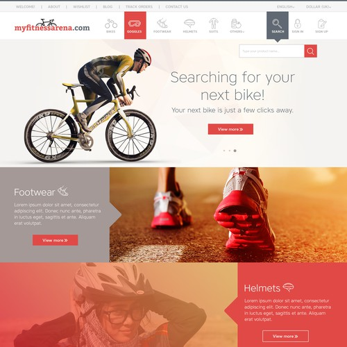 Runner-up design by GraphicDots