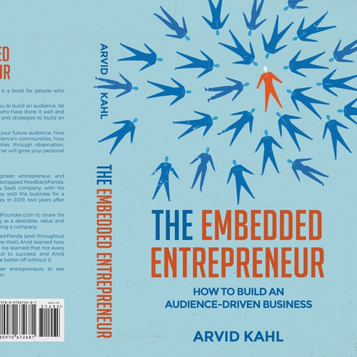 """Book Cover for """"The Embedded Entrepreneur"""", an Audience-Driven book Design by dezinir.99"""