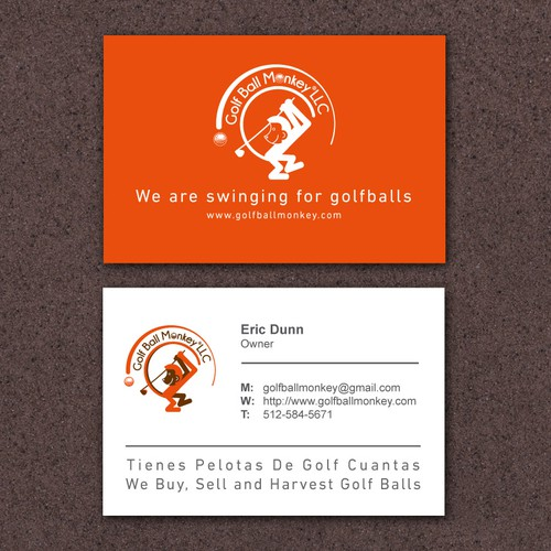 Golf ball monkey llc is a golf ball buyer harvester and seller runner up design by sealight reheart Images