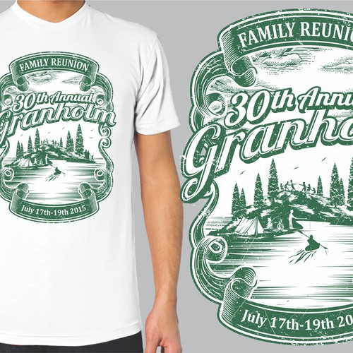 Family Reunion T Shirt Design Contest Who Can Capture What Our Name Means The Best Is It You T Shirt Contest 99designs