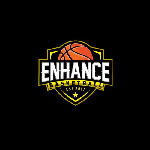 basketball skills training company logo logo design