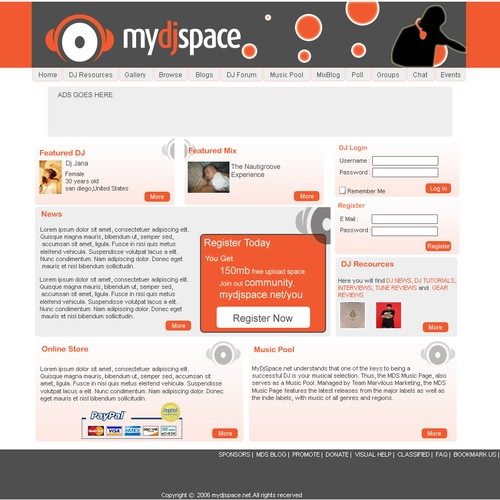 Design finalista por squarexfreelance