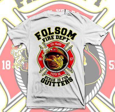 T shirt design contest folsom fire dept needs a new t for Fire department tee shirt designs